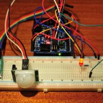 PIR and DS1307 RTC module control a light