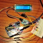 Arduino digital clock with DS1307