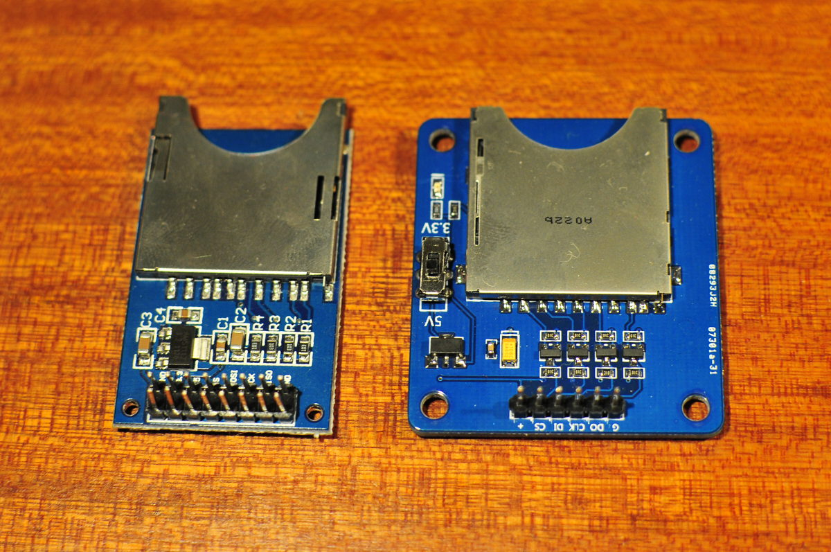 SD card modules