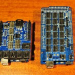 Sensor shields for Arduino Uno and Mega