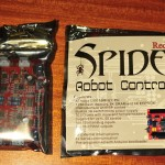 Dagu red back spider and 4 channel motor controller