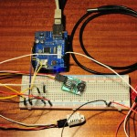 Arduino temperature logging with webserver and RTC