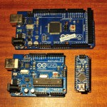 Arduino Nano + Uno + Mega 2560
