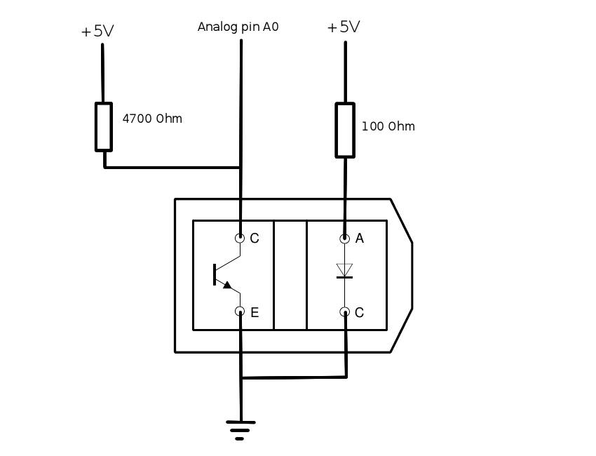 Tcrt5000 Connection Diagram