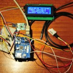 Arduino data logging webserver ds1307 and lcd
