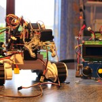 Dagu rover 5 with gripper and remote control