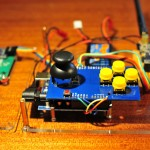 Arduino remote control sideview