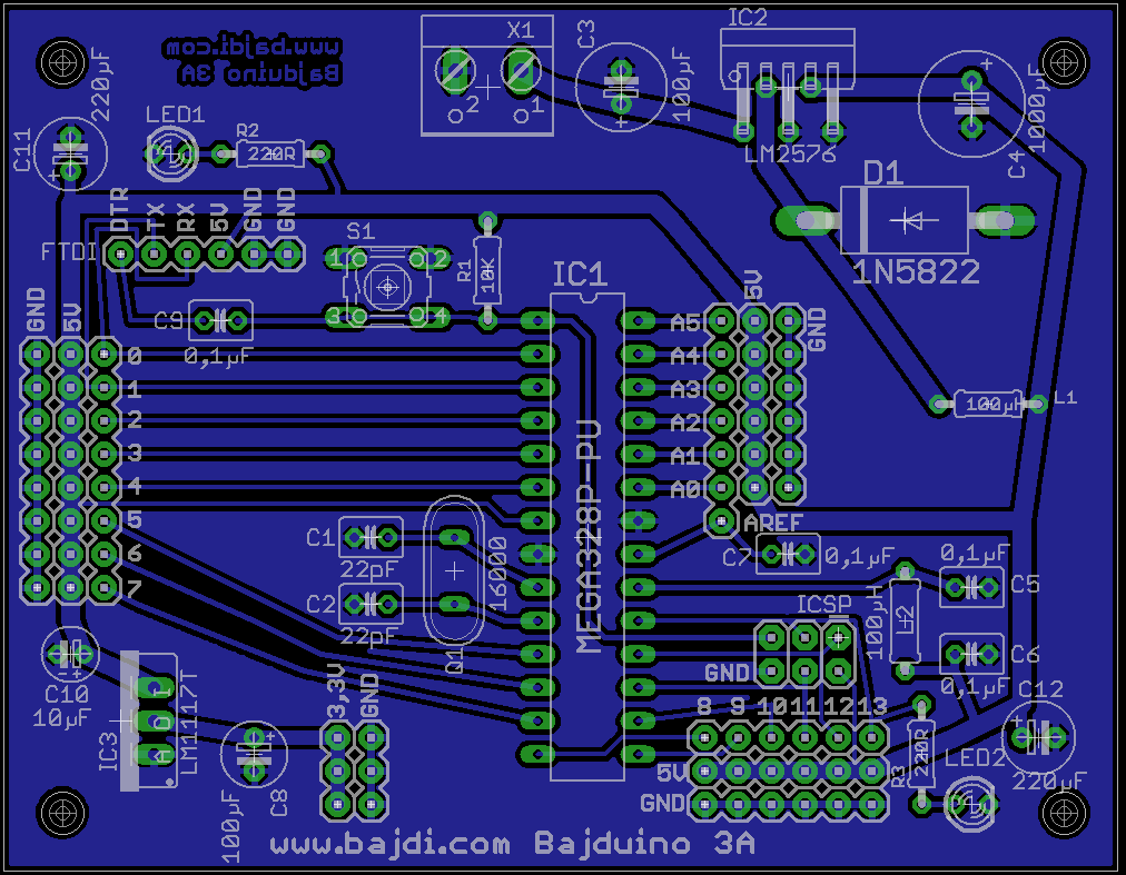 My first PCB design with ATmega328P-PU, will this work?