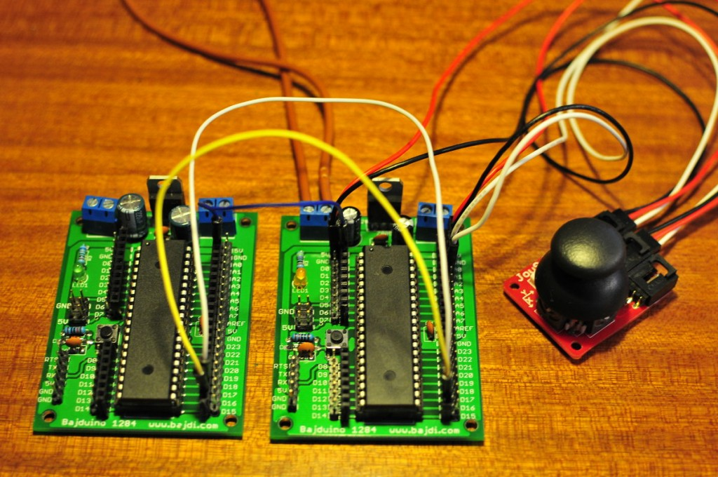I2C communication between 2 arduinos
