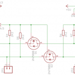 I2C Logic level converter schematic