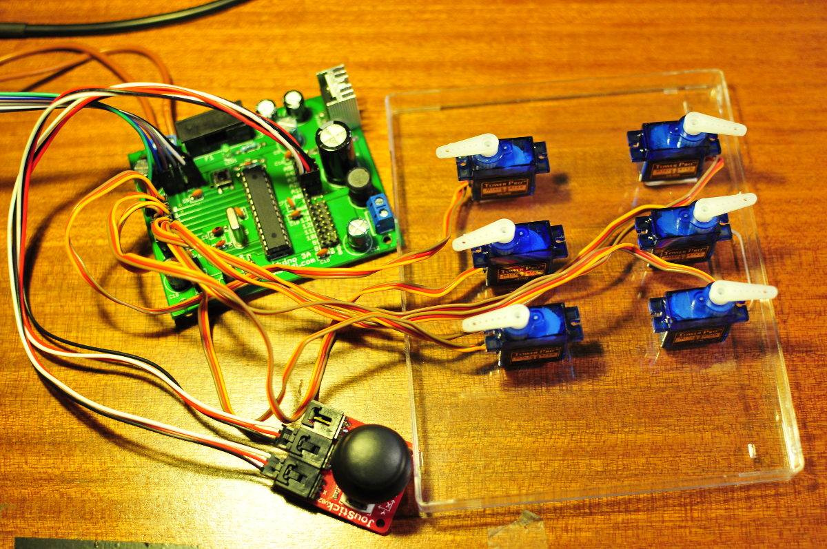 Sweeping servos with arduino