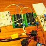 Serial communication with 2 ATmega1284&#039;s
