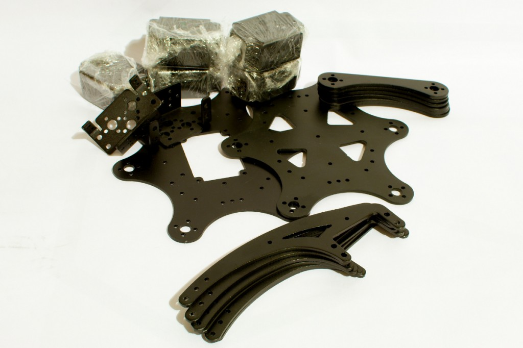 Chinese hexapod chassis kit