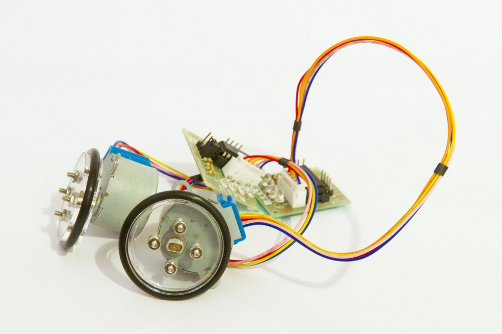 28bjy-48 stepper motor with wheels