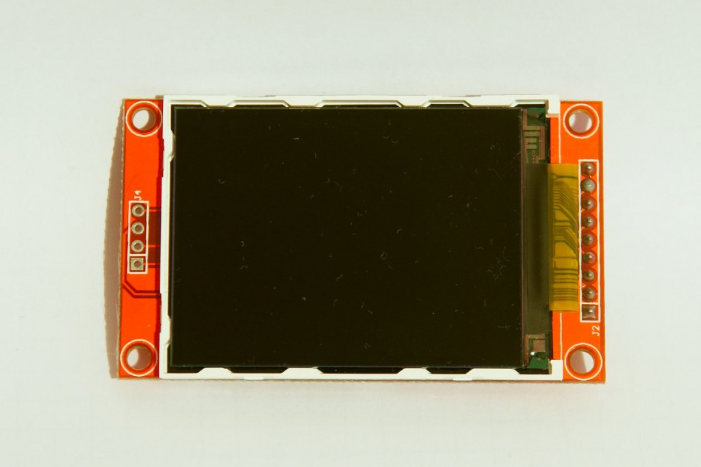 TFT 320x240 front view