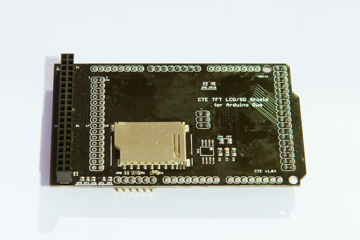 CTE TFT shield for Arduino Due