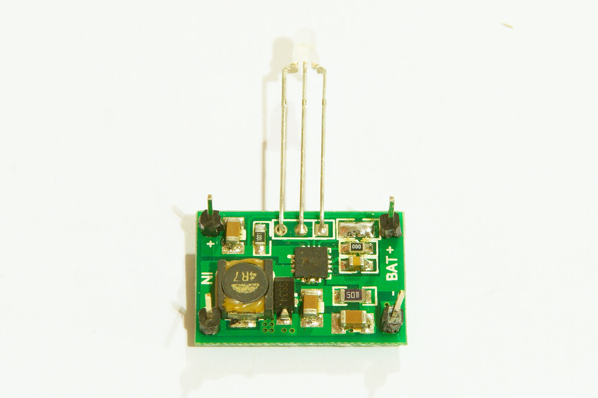 Charger board for lithium batteries