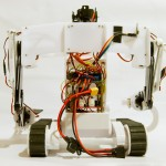 Dagu service droid: back view