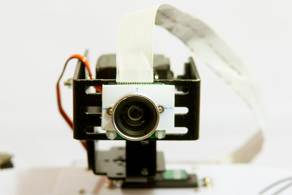 Raspberry Pi camera with wide angle lens