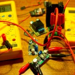 Testing switch mode regulators