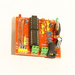 RaspberryPi motor robot shield, bought from Electrodragon.