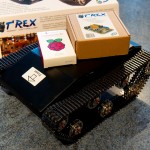 Bought some new toys: T-rex tank + Raspberry Pi model b+