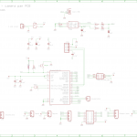 Time lapse - pan camera PCB schematic