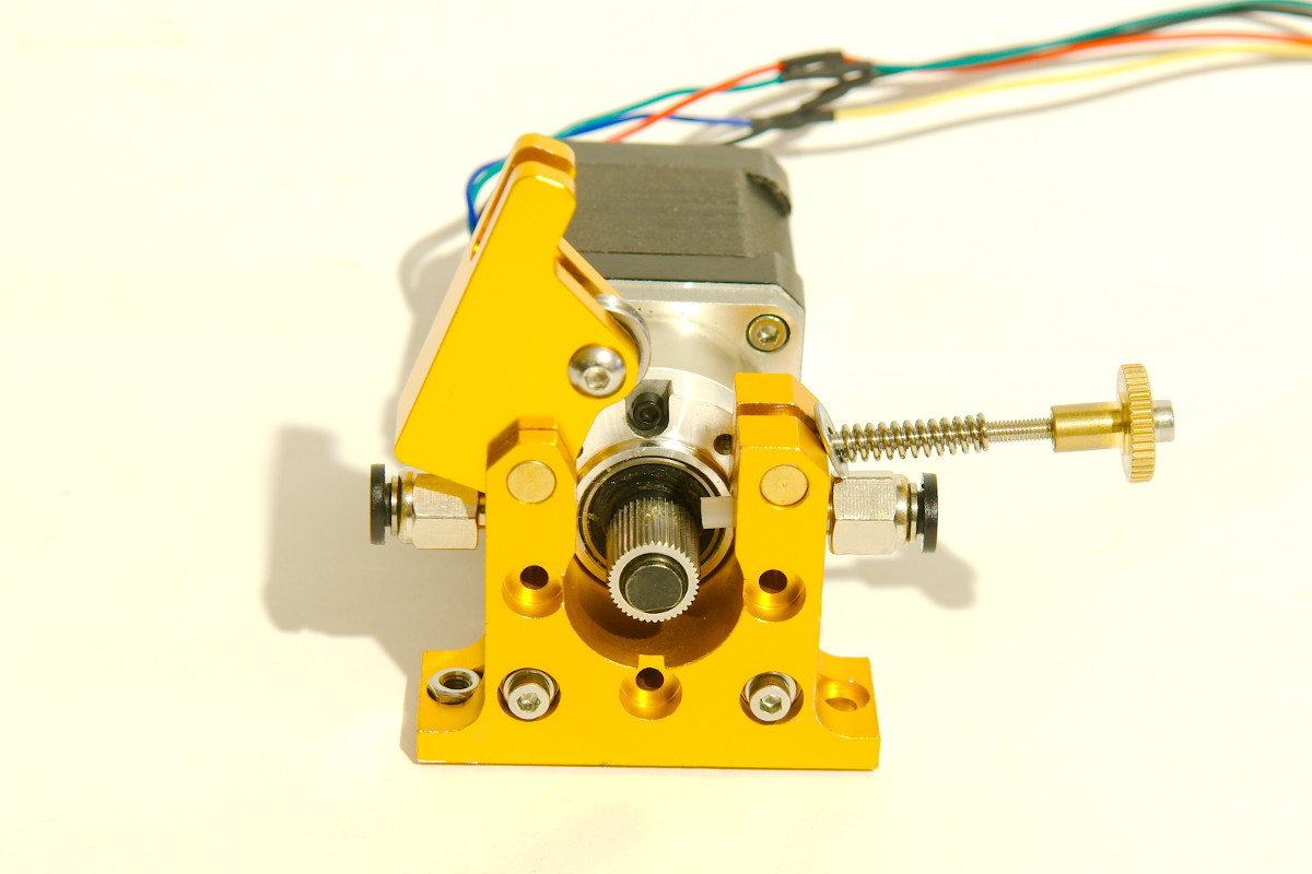 Ali Geared Extruder on L293d Motor Shield Arduino Code
