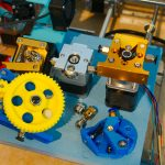 3D printer extruders